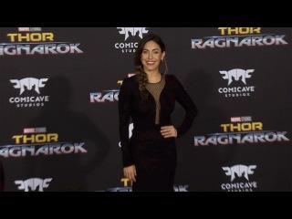 "Natalia Cordova-Buckley ""Thor: Ragnarok"" World Premiere Red Carpet"