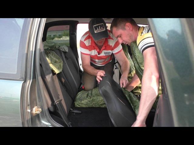 Установка и тест влагозащитных чехлов SEATEX на Chevrolet NIVA