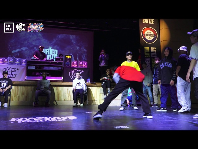 Top8 Rivers Crew VS Soul Burnz Battle Newschool 2017 Korea LB PIX
