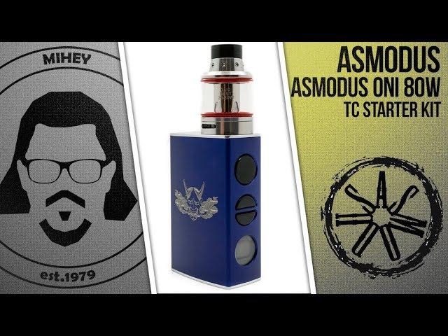 AsMODus Oni 80W TC Starter Kit. 50 на 50, во всех смыслах.