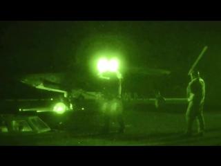 ВМС США - F-35C Stealth Fighter Развивающая Тестирование Первый Night Flight На борту USS Nimitz 1080p