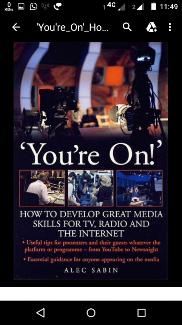 'You're On' How to develop great media skills