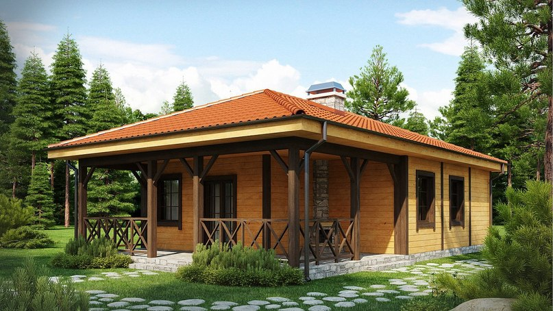 Проект дома «Кипарис», изображение №2