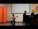 Выступление Валентина Свиркова на межзональном открытом конкурсе Весенние нотки 2018