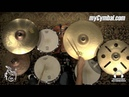 Meinl Byzance Vintage Benny Greb Sand Cymbal Box Set Pack FREE 16 Trash Crash (BV-480-1093015O)