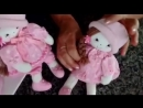 Кукла в розовом и шляпке BONEQUINHA NANI 22cm