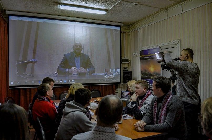 Общение с губернатором АО Игорем Орловым.