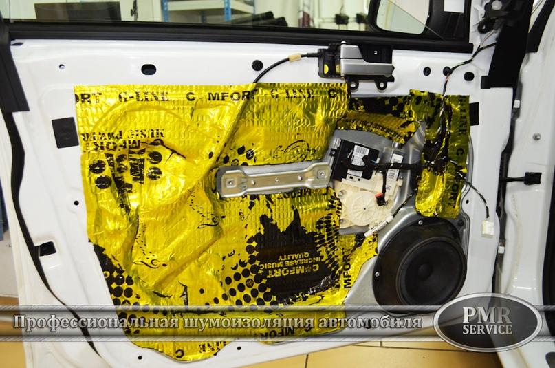 Шумоизоляция Ford Focus 2, изображение №9