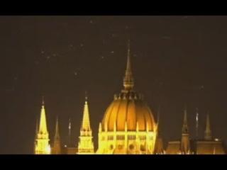 Strange Orbs Put On A Bizarre Light Show Over The Hotel Victoria, Budapest