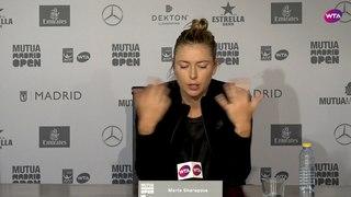 Maria Sharapova Press Conference | 2018 Mutua Madrid Open First Round