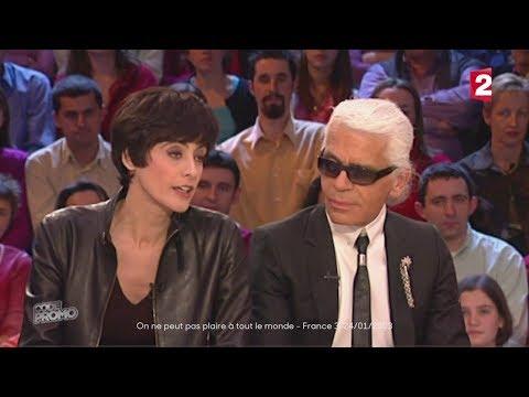 Quand Inès de la Fressange clashait Karl Lagerfeld Code Promo