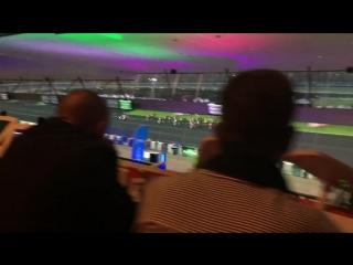 Ночные бега на ипподроме Paris-Vincennes