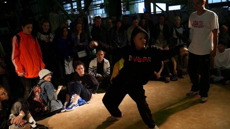 URBAN DANCE AREA by BATTLE PROJECT JAM BATTLE TUSA HIP HOP 1 ROUND SAZON vs KEISY vs PAHAN