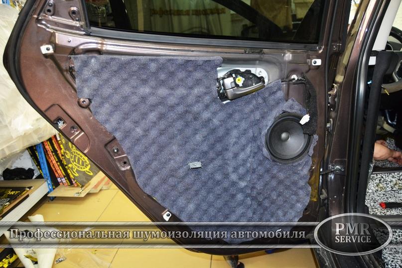 Комплексная шумоизоляция Hyundai ix 35, изображение №15
