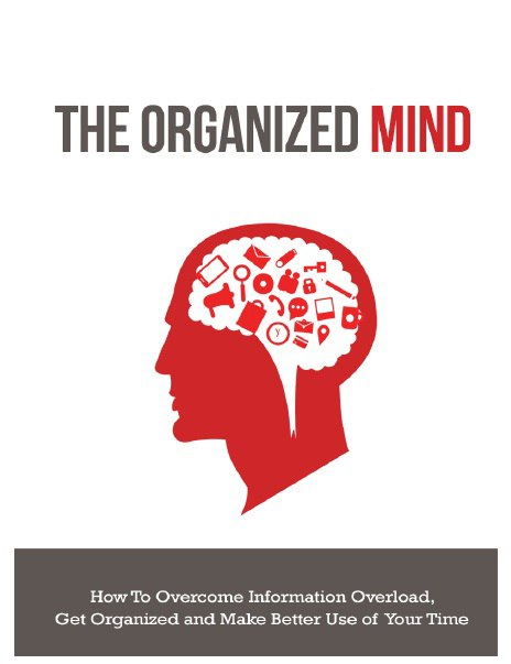 The Organized Mind eBook digitalproductshq