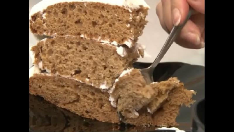 Вкусные новости Торт Клубничка