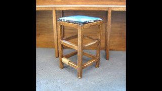 1/12th Scale Garden Shed Stool Tutorial