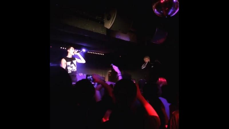 Fancam cut 180418 Rockbottom Kidoh 2018 Live in Europe in Paris cr @ckjpopnews ig