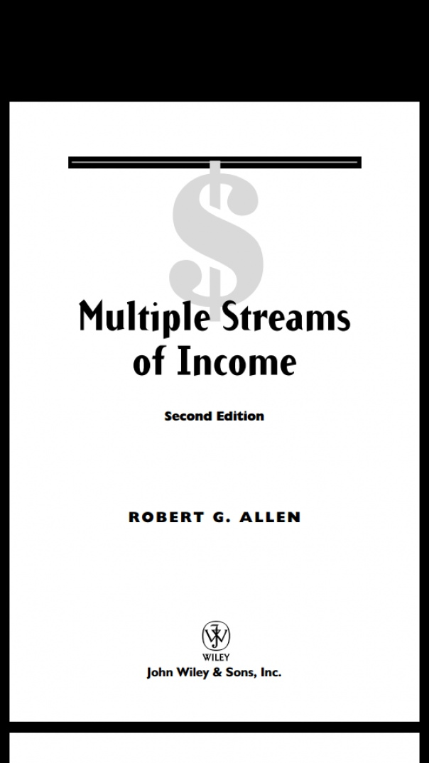 Multiple Streams of Income How