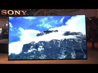 Eyes-On: Sony's Sexy 4K OLED TV Is Also a Glass Speaker - CES 2017