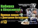 Прямая линия с Дмитрием Котвицким Набивка в Киокусинкай карате oyama mas