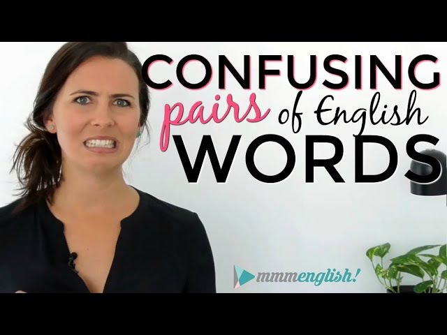 Confusing English Words! | Fix Common Vocabulary Mistakes Errors