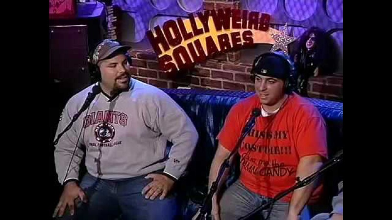 Howard Stern Hollyweird Squares 2002 Infamous Jeff The Drunk Fall VIDEO