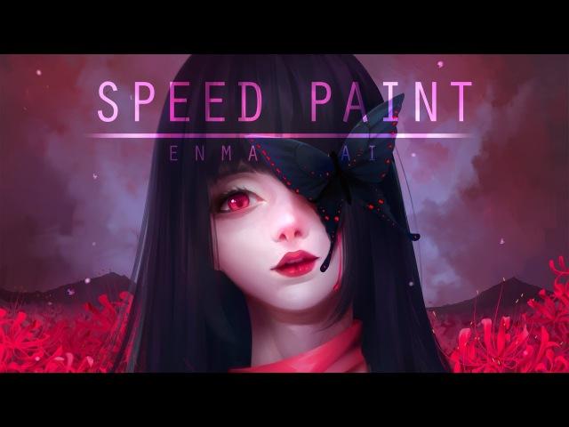 Speed paint- Enma Ai - Paint Tool Sai- Lulybot
