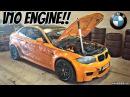 BMW 1M Coupè with E60 M5 V10 Engine Swap!! - LOUD Sounds Manji Drifting!