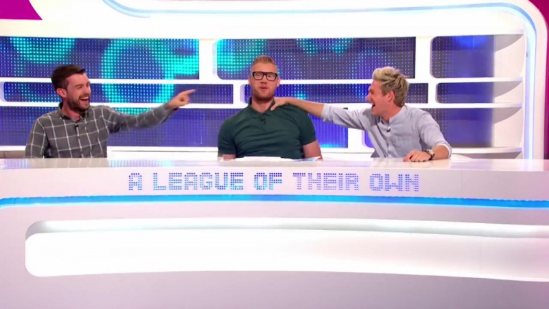 A League Of Their Own ALOTO s11e04 Niall Horan, Kirsty Gallacher, Nick Grimshaw