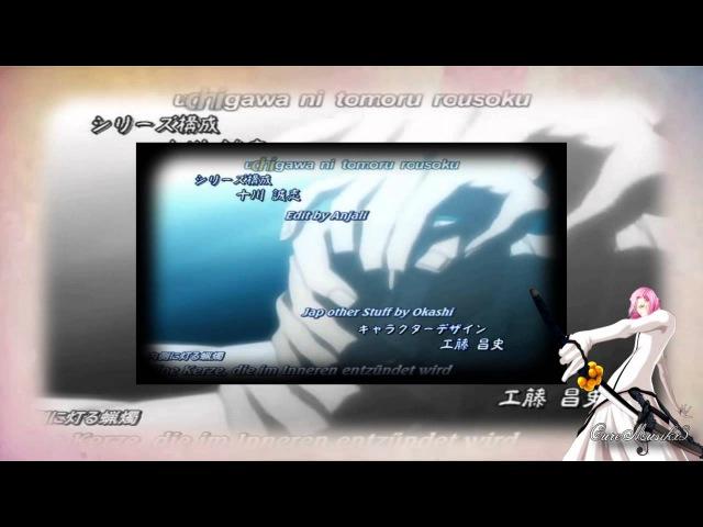 Bleach Opening 6 Alones Toriumi Kosuke Szayel Aporro Granz