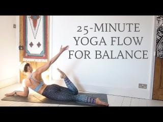 25 MINUTE YOGA FLOW   Find Balance & Ground   CAT MEFFAN