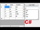C Tutorial 85 Textbox autocomplete with Database Values