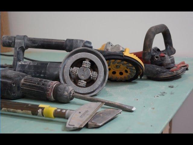 Инструменты для демонтажа старых покрытий Шайтер Андрей