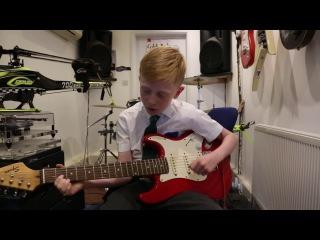 Lego Ninjago Guitar Cover By Alexander aged 9