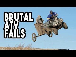 👑 Brutal ATV Fails!