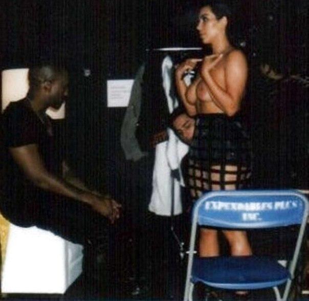 Kim Kardashian Jokes She Is Shy While In A Bikini As She Continues To Not Talk Split