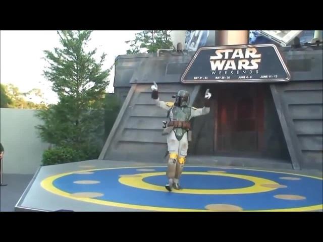 Star Wars Boba Fett dancing