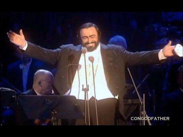 Luciano Pavarotti Tu Scendi Dalle Stelle Christmas in Vienna ᴴᴰ