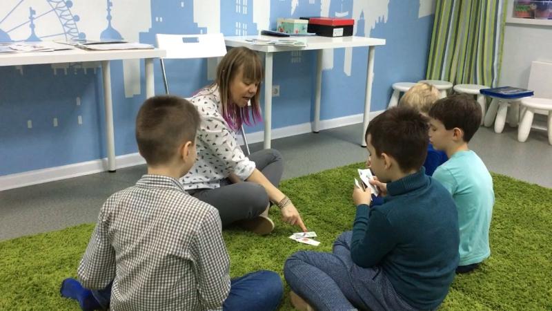 Методика I Love English, курс I Can Read, урок 5-2 часть 3 г.Новосибирск, школа LESKids