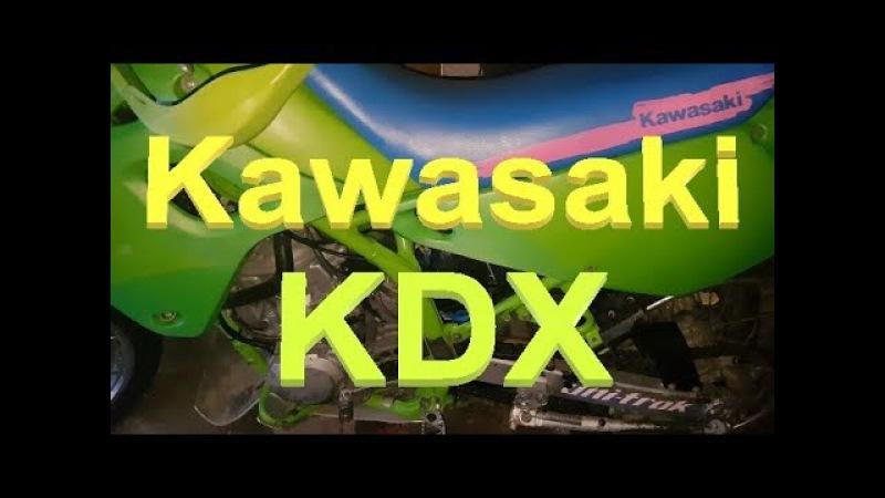 МИНИ ОБЗОР - Kawasaki KDX 250 1992 года - ИДЕАЛ за 70 тысяч рублей!
