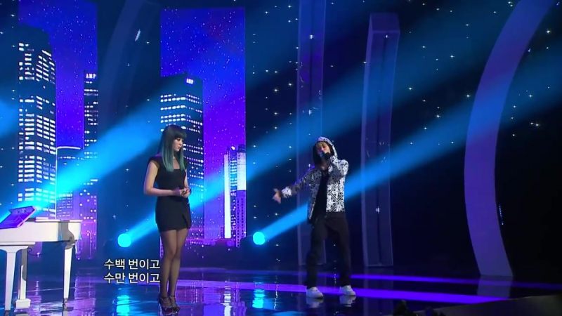 【TVPP】Yongguk(B.A.P) - Crazy (Song Jieun of Secret), 용국(비에이피) - 미친거니(송지은) @ Show! Music Core Live