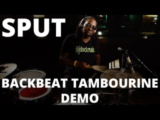 Robert 'Sput' Searight - Meinl Backbeat Tambourine Drum Set Groove Demo