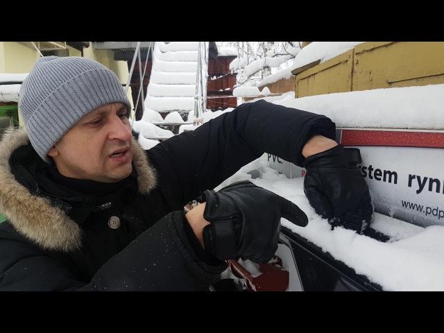 Монтаж водосточной системы уходим от замерзания