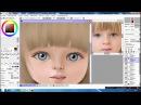 Прорисовка деталей мульт портрет малыша
