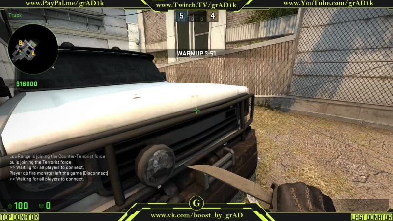 CS:GO Stream by oldschool player CS 1.6 Играю с Flatra создателем