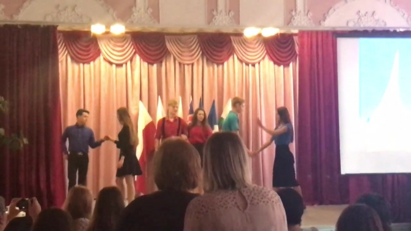Наш DANCE на день Европейских языков