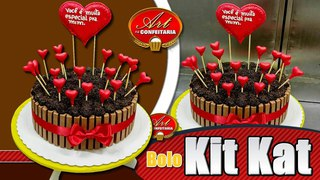 КАК УКРАСИТЬ ТОРТЫ Видео урок 428   Bolo KitKat