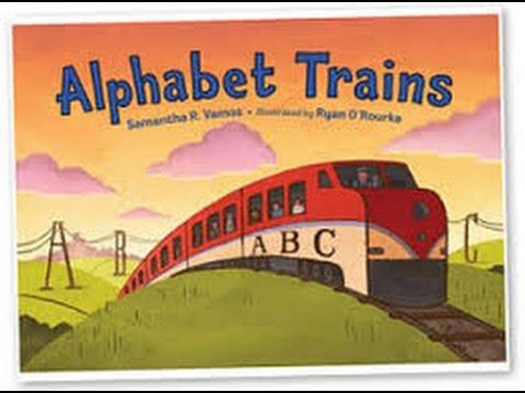 Alphabet Trains by Samantha R Vamos Read by SUPER BooKBoY