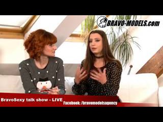 BravoSexy talk show 12/2017 se Sarah Star host  TEREZA BIZARRE   - fetish slave model